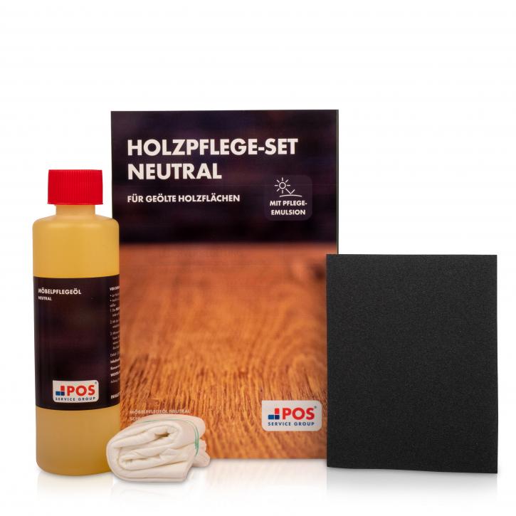 POS Holzpflege-Set Neutral für geölte Holzflächen