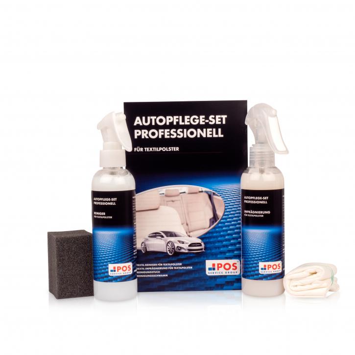 POS Autopflege-Set Professionell für Textilpolster